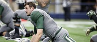 Baylor QB Russell planned to be a Jayhawk