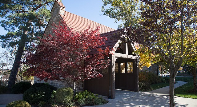 KU's Danforth Chapel, pictured Friday, Nov. 6, 2015.