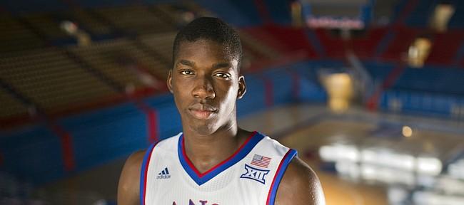 Kansas freshman forward Cheick Diallo.