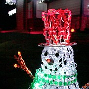 This file photo from 2010 shows the holiday display of Lawrence resident Zach Stoltenberg, who set over 10,000 LED lights to music.