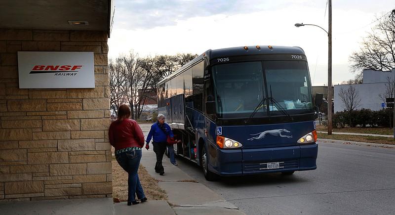 Greyhound Bus Lines Kansas City Missouri