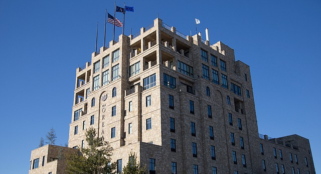 The Oread Hotel, 1200 Oread Ave.