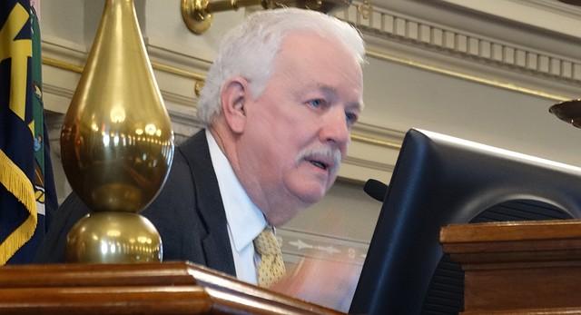 House Speaker Ray Merrick, R-Stilwell, called the House to order Monday, Jan. 11, 2016, officially starting the 2016 legislative session.