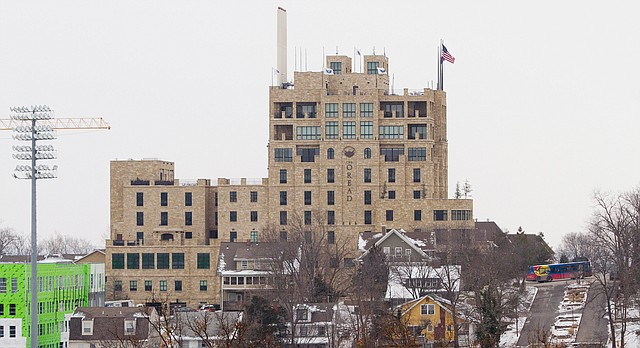 The Oread hotel, 1200 Oread Ave, is pictured on Jan. 22, 2016.