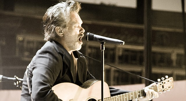 John Mellencamp is shown performing in this Journal-World file photo from Aug. 22, 2011.