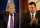 Kobach calls Trump's stance on election results 'reasonable'