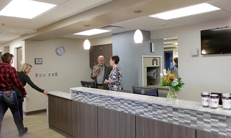 Peek Inside Lawrence Memorial Hospital S Renovated Fourth