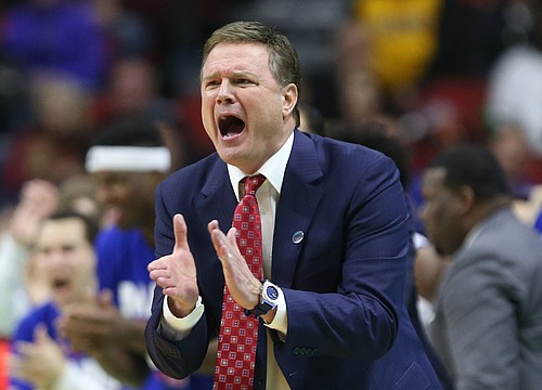 Kansas basketball coach Bill Self pleased with effort of KU veterans and newcomers at 'more intense' boot camp