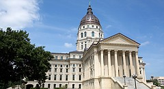 The Kansas Statehouse in Topeka.