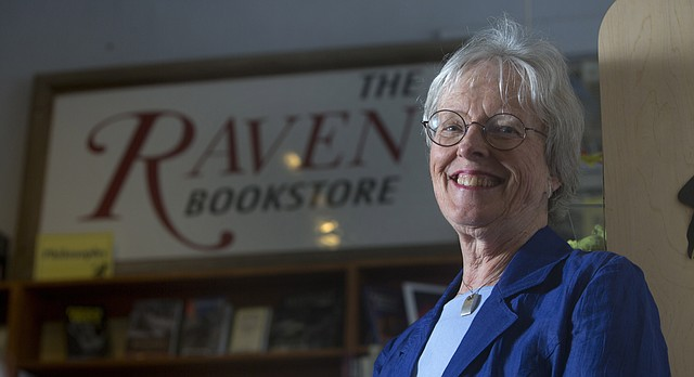Pat Kehde, former owner of the Raven Bookstore at 6 E. Seventh St., is retiring from the store after 28 years.