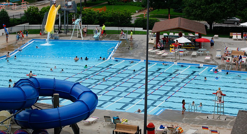 Lawrence outdoor pool opens for season saturday for Garden city pool jobs