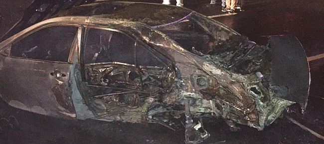 Former Kansas University basketball player Brannen Greene escaped serious injury when his car exploded in the Bronx, N.Y. Friday night.