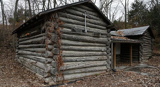 Fire destroys old log cabin near kansas river ljworld