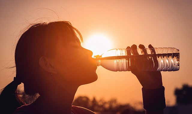 Medical professionals say staying hydrated is extremely important in the hot months of summer.