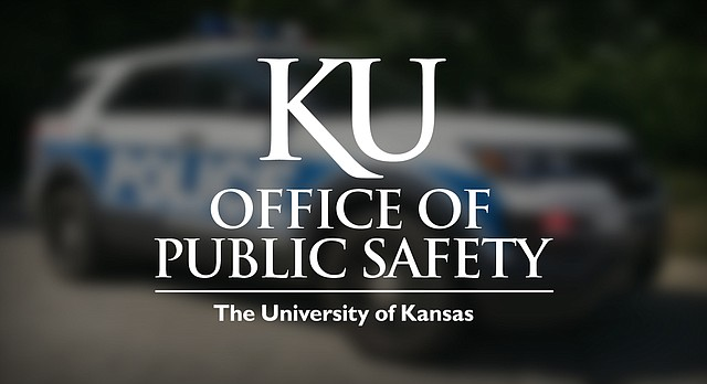 KU Office of Public Safety patrol vehicle, pictured June 2016