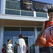 Lawrence has landed The Hardwood Classic AAU basketball tournament, which runs through Sunday at the Sports Pavilion Lawrence. In the past the event has been held in Kansas City. This weekend's event brings close to 300 teams and supporters to the community.