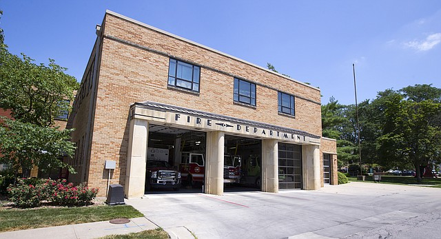 Fire Station No. 1, at 746 Kentucky St., is pictured on July 26, 2016.