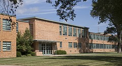 Lawrence High School is pictured on July 28, 2016.