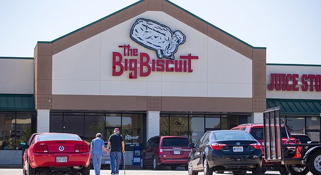 The Big Biscuit, 4821 W. Sixth St., is pictured on Monday, Sept. 19, 2016.