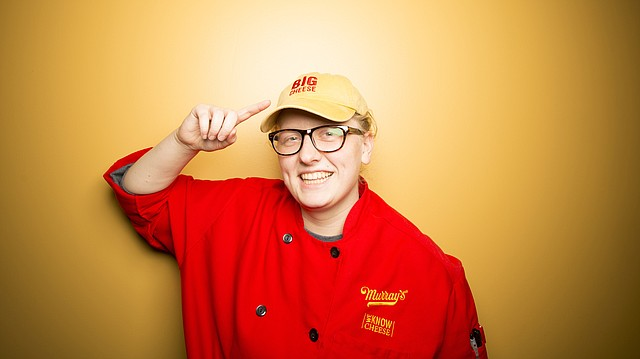 """On her second try, cheese expert Sara Knickerbocker received her designation of """"certified cheese professional"""" from the American Cheese Society after she passed the CCP exam. Knickerbocker runs the Murray's Cheese shop and overseeing a staff of eight at the Sixth Street and Wakarusa Drive Dillon's location."""