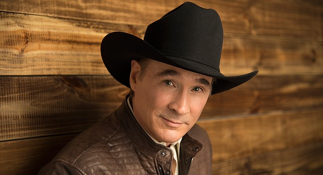 Country singer-songwriter Clint Black will perform Saturday at 7:30 p.m. at the Lied Center, 1600 Stewart Drive.