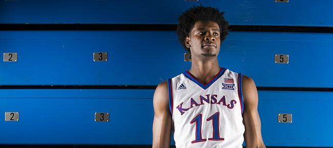 Kansas guard Josh Jackson