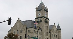 The Douglas County Courthouse.
