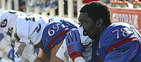 Devastating defeat: Jayhawks couldn't hold lead in 31-24 loss against Iowa State