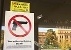 Regents' statewide weapons policy now allows stun guns, additional on-campus gun storage