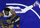Philadelphia 76ers' Joel Embiid in action during an NBA basketball game against the New Orleans Pelicans, Tuesday, Dec. 20, 2016, in Philadelphia. (AP Photo/Matt Slocum)