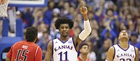 Josh Jackson named Big 12 Newcomer of Week for third time