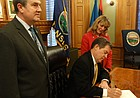 Brownback signs special elections bill