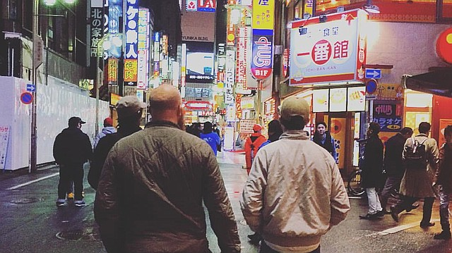 The Primary Color Music team in Tokyo.