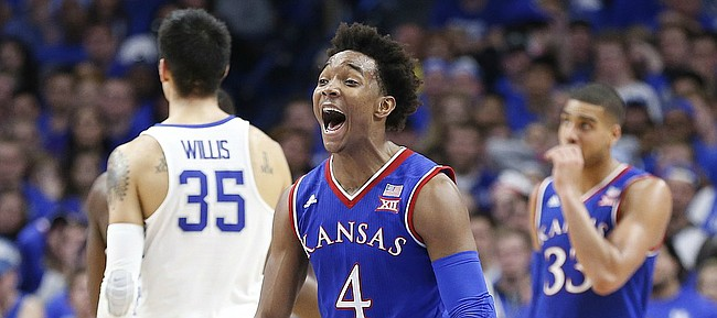 Uk Basketball: Elite Experience: Jayhawks Rely On Veterans In Come-from