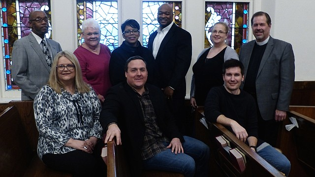 Justice Matters has taken on the issues of access to mental health services, affordable housing, childhood welfare, overincarceration and racism since it was founded in 2014. From left, the interfaith group's executive committee is: bottom row, Judy K. Lewis, Brent H. Hoffman, Justin Jenkins; back row, Verdell Taylor Jr., Pat Lechtenberg, Kathy Williams, Eric Galbreath, Mary Newberg Gale and Ted Moser.