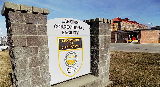 The exterior of the Lansing Correctional Center is seen Thursday, Feb. 2, 2017, in Lansing, Kan. Kansas corrections officials said Thursday, Feb. 2, 2017, that they are considering replacing the state's largest prison with a modern facility that would be safer and cheaper to maintain. (Mark Rountree/The Leavenworth Times via AP)