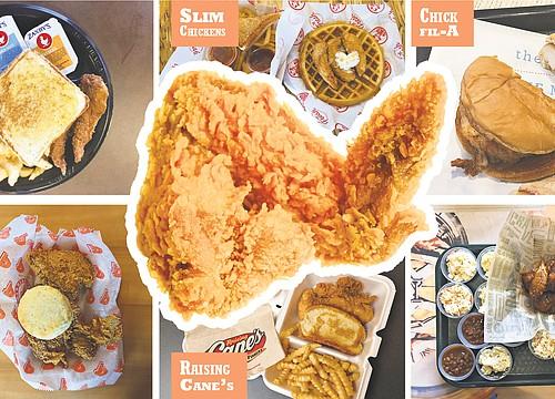 6 restaurants in 2 hours? Journal-World staffers take a chicken challenge