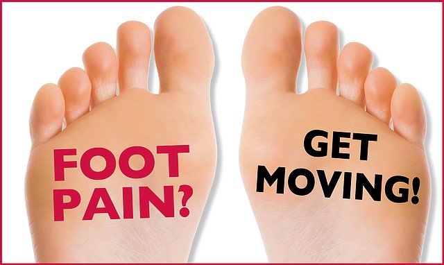 Exercise is a great way to help prevent painful foot problems.