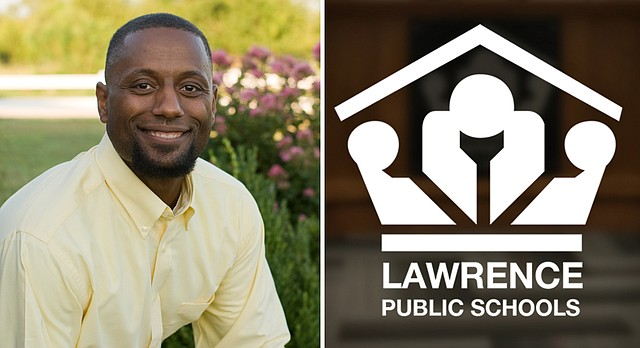Jesse Brinson, a local youth minister, father of seven and one-time Douglas County Commission candidate, is among the several candidates vying for the Lawrence school board seat left vacated by Kristie Adair last month.