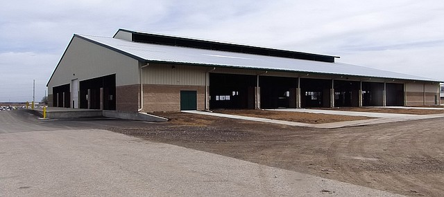 The Open Pavilion at the Douglas County Fairgrounds awaits only final inspections before it is ready for use. County officials say it is already booked for the first four weekends in May and are optimistic it and other facilities at the fairgrounds will be in demand.