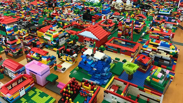 Residents invited to 'build Lawrence' at community Lego event ...