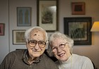 More than 74 years of marriage later, Lawrence couple still remember the day they met