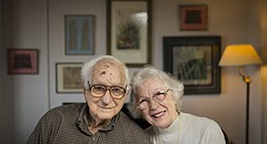 Lawrence couple Hob and Helen Crockett celebrated their 74th wedding anniversary on April 10, 2017. Hob, 96, and Helen, 93, had seen each other in person just three times before they got married, they said.