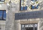 Twente Hall, home to the School of Social Welfare, 1545 Lilac Lane on the KU campus.