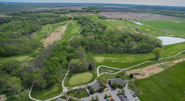 Eagle Bend Golf Course is pictured on Monday, April 17, 2017.
