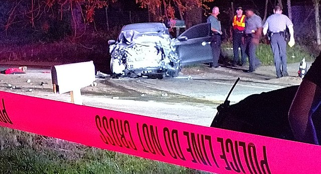 One man is dead and another was injured after a two-vehicle crash Monday night, April 17, 2017, along East 15th Street, police say.