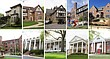 Some of the fraternity houses at University of Kansas are pictured April 2017. Top row, from left: Beta Theta Pi, Delta Chi, Delta Tau Delta, Kappa Sigma, Phi Delta Theta. Bottom row, from left: Phi Gamma Delta, Phi Kappa Psi, Sigma Chi, Sigma Nu, Sigma Phi Epsilon.