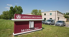 Lawrence Public Schools district offices, 110 McDonald Drive.