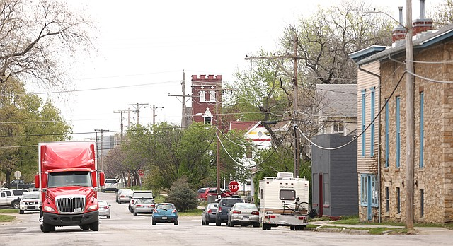 The City of Lawrence has budgeted more than $2 million for 2018 to reconstruct several blocks of East Ninth Street.