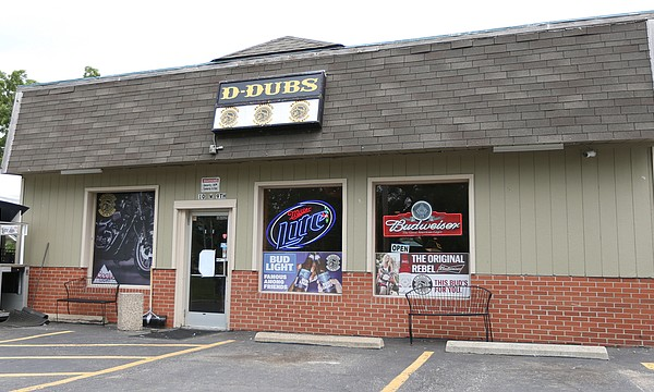 D-Dubs Bar and Grill is located at 10 W 9th St, in Eudora.